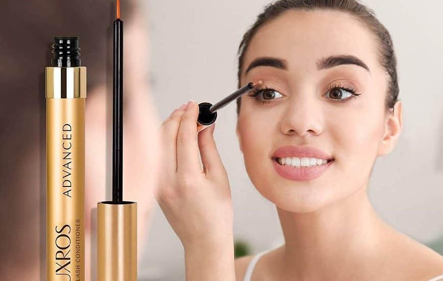 LUXROS Eyelash Growth Serum Increase Eyelash Length and Thickness