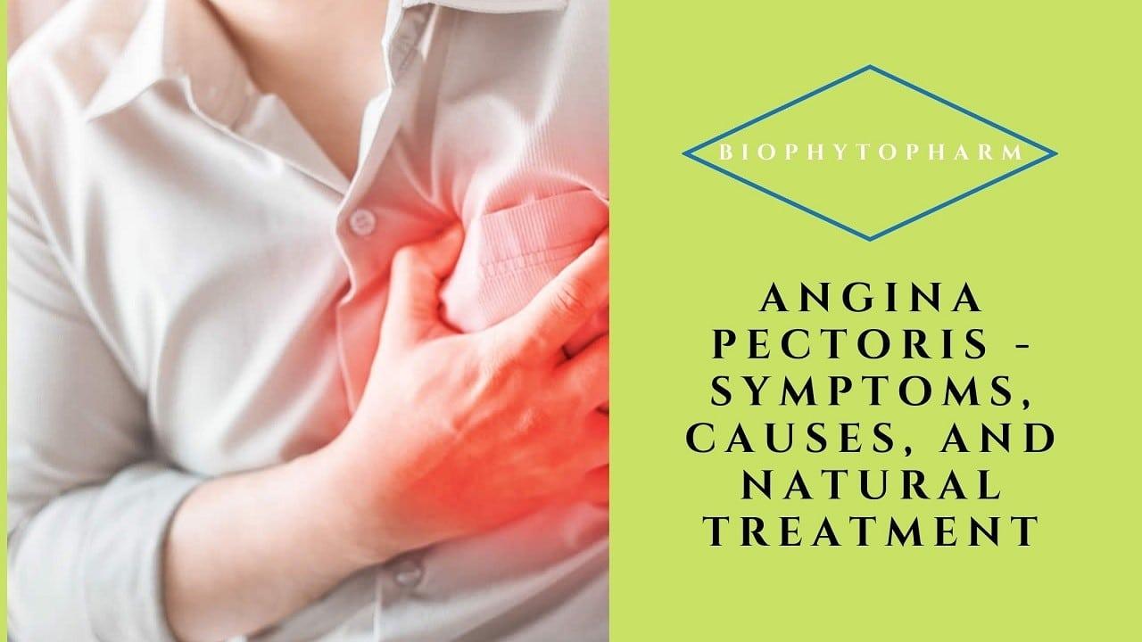 Angina Pectoris - Symptoms, Causes, and Natural Treatment