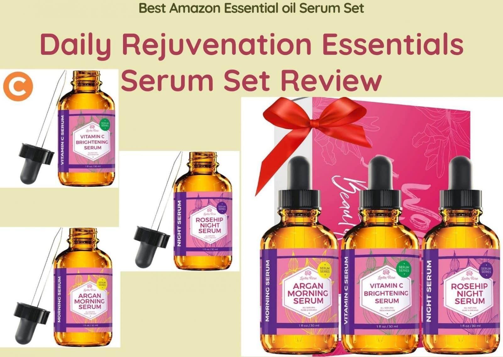 Daily Rejuvenation Essentials Serum Set Review