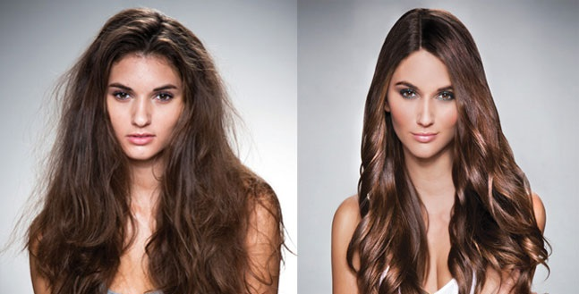 Jojoba oil for hair before and after