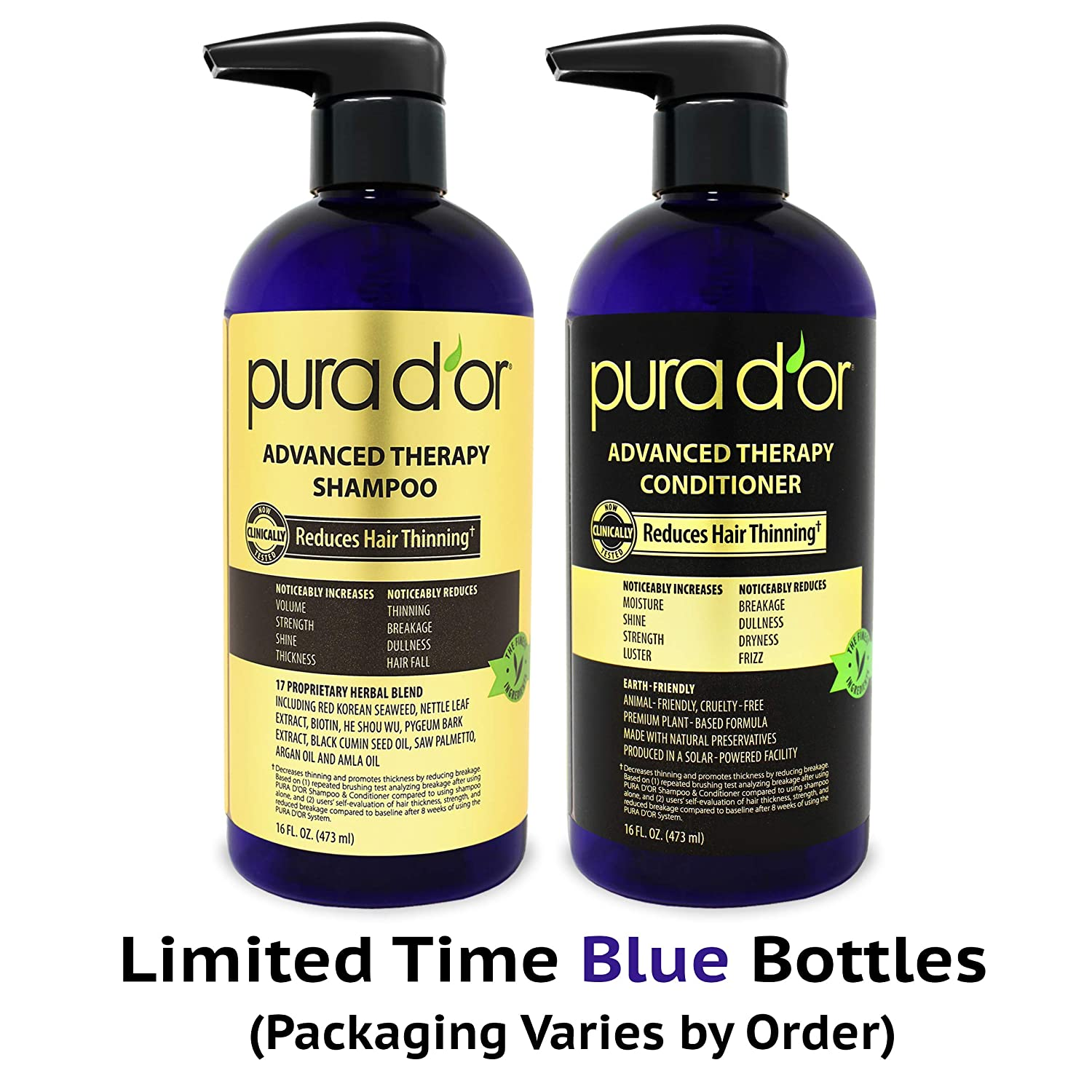 Pura D'or Advanced Therapy Shampoo Review