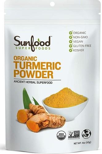Sunfood Superfoods Organic Turmeric Root Powder