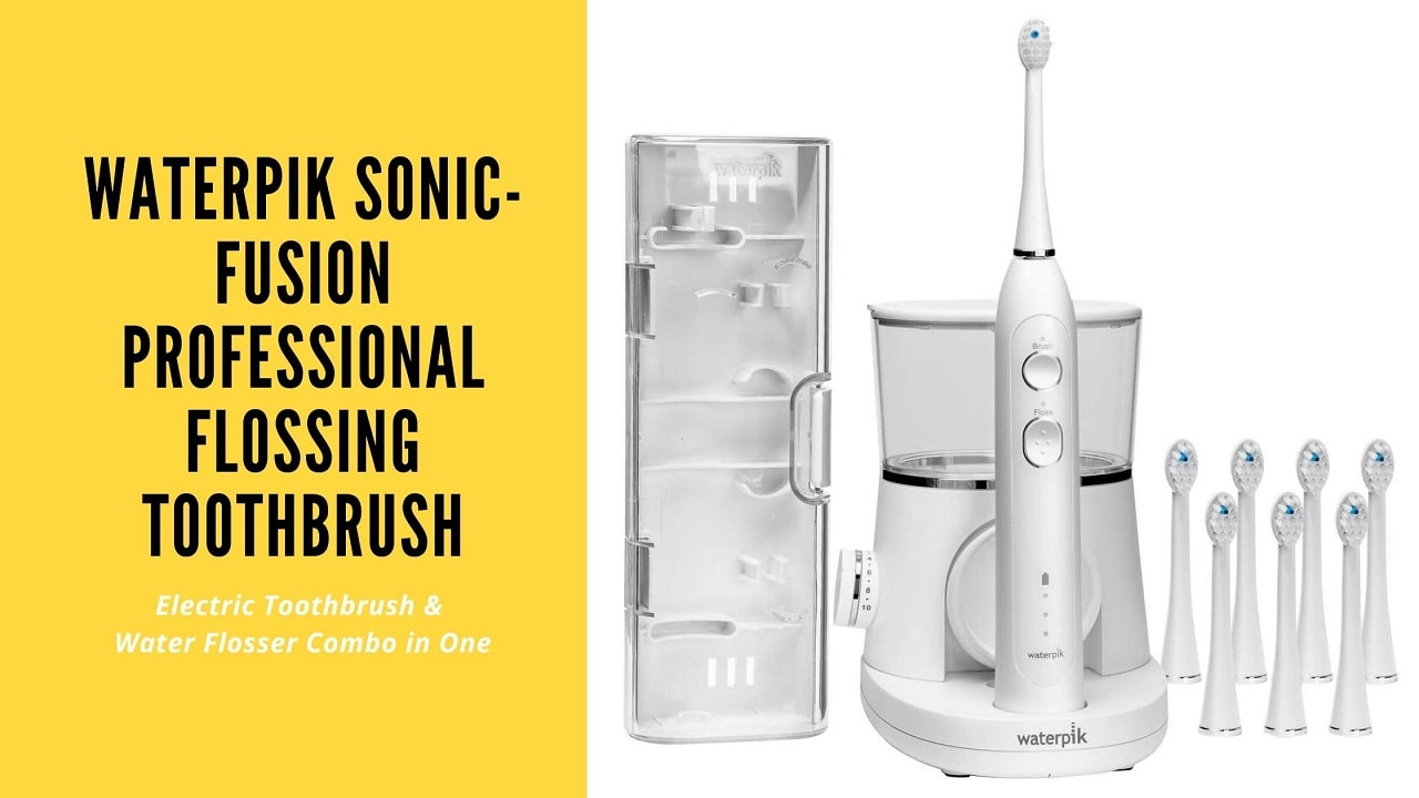 Waterpik Sonic-Fusion Professional Flossing Toothbrush