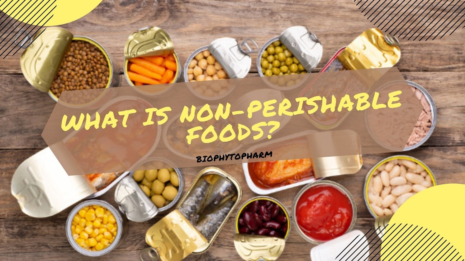What is Non-Perishable Foods