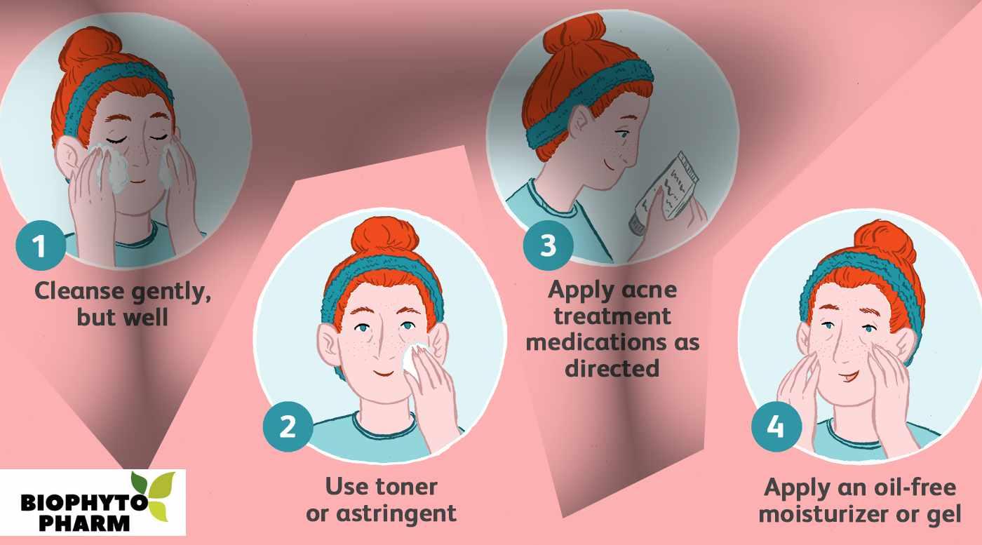 Daily Skin Care Routine for Oily Acne Prone Skin