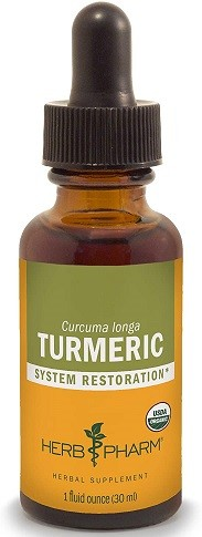 Herb Pharm Certified Organic Turmeric Root Liquid Extract