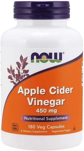 NOW Supplements, Apple Cider Vinegar 450 mg