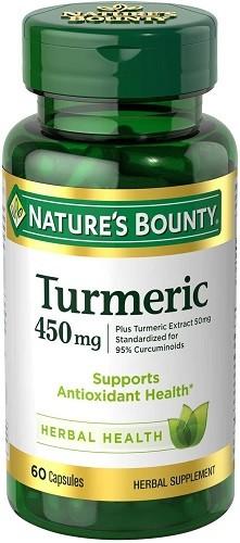 Nature's Bounty Turmeric Curcumin Caps
