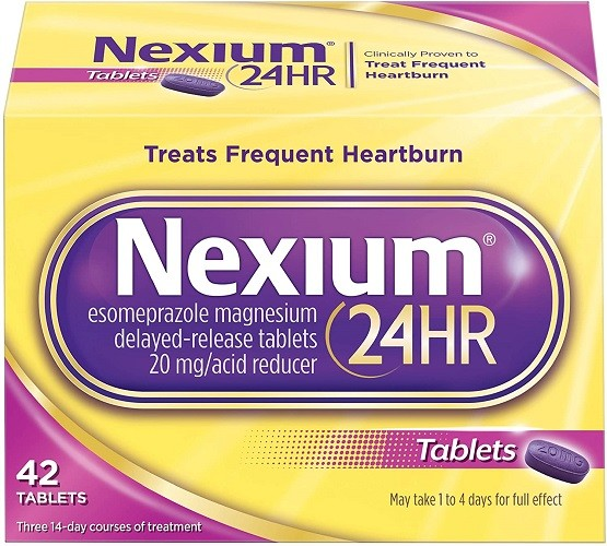 Nexium 24HR (42 Count, Tablets) All-Day