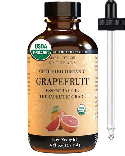 Organic Grapefruit Essential Oil (4 oz)