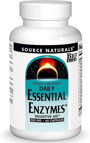 Source Naturals Essential Enzymes 500mg