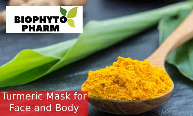 Turmeric Mask for Face and Body