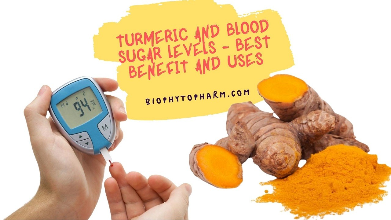 Turmeric and Blood Sugar levels - Best benefit and Uses