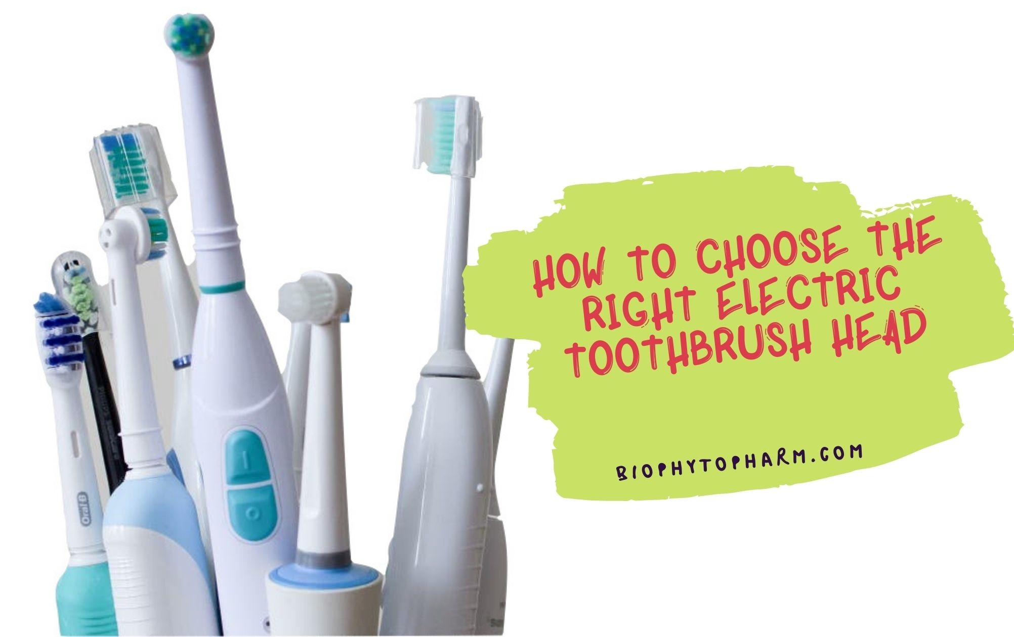 How To Choose The Right electric toothbrush head