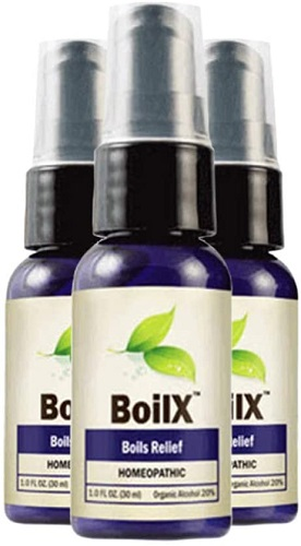 BoilX Homeopathic Boils Relief Spray