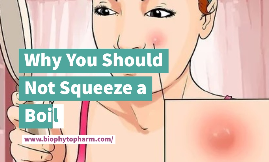 Why You Should Not Squeeze a Boil